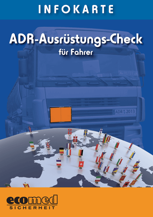 Infokarte ADR-Ausrüstungs-Check für Fahrer