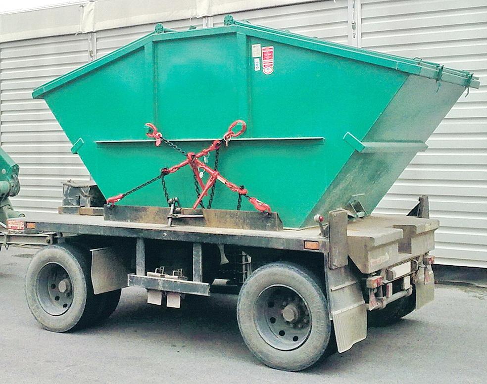 GWS®-Zurrkette zur Containersicherung