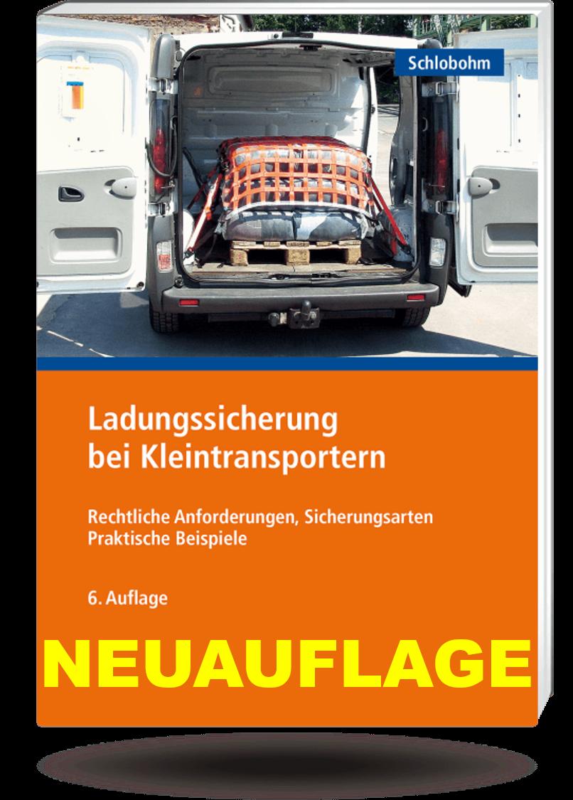 Ladungssicherung bei Kleintransportern - Broschüre