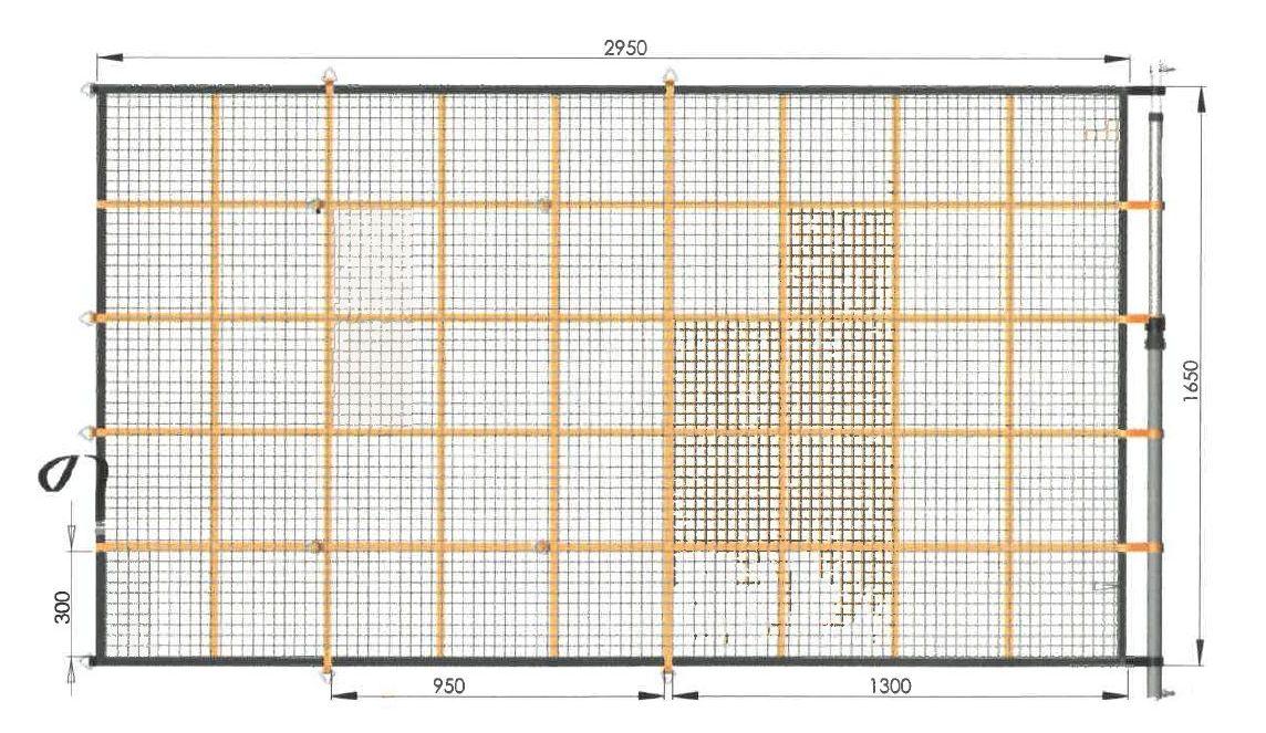 GWS®-Kep 400 K, Typ 2 - Gurtband/Seilkombination