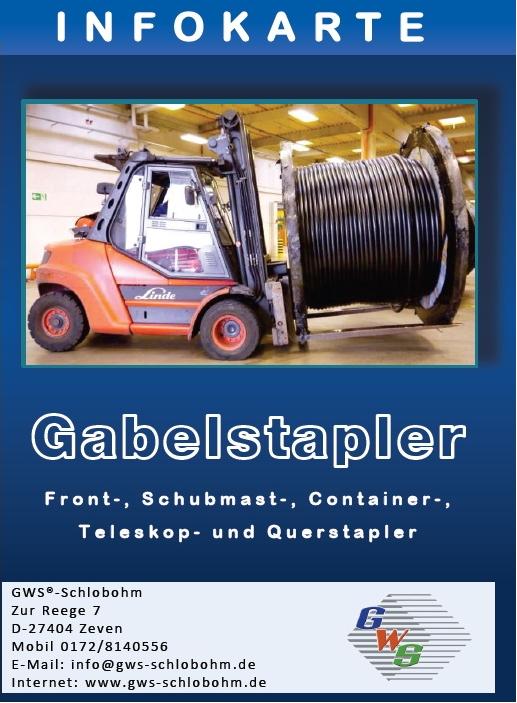 GWS®-Infokarte Gabelstapler
