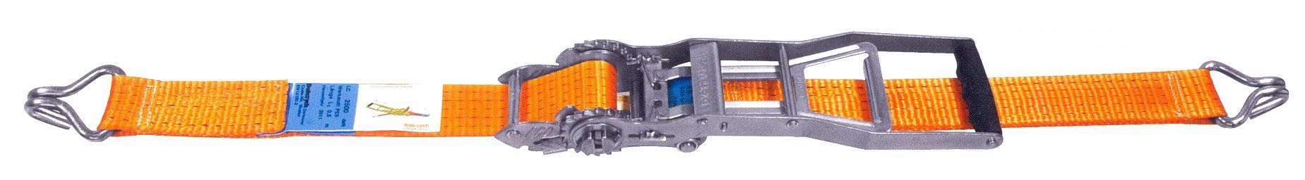 GWS®-Zurrgurt  5.000, mit Multi-Langhebelratsche - STF 600 daN