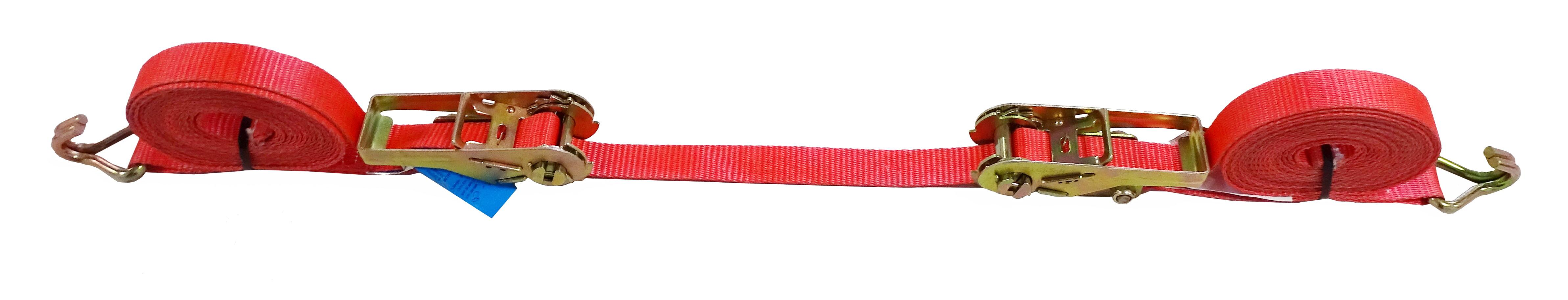 GWS®-Zurrgurt mit 2 Ratschen,  25 mm Gurtbandbreite