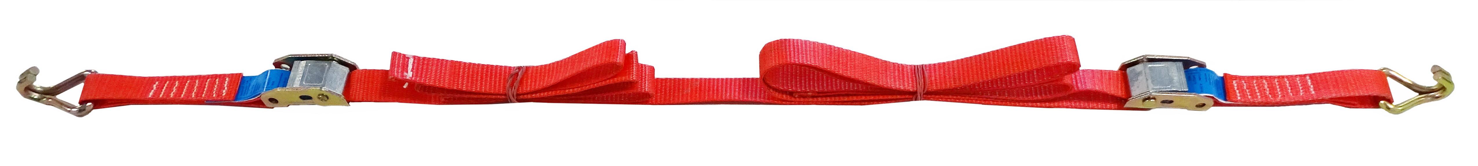 GWS®-Zurrgurt mit 2 Klemmschlössern,  25 mm Gurtbandbreite