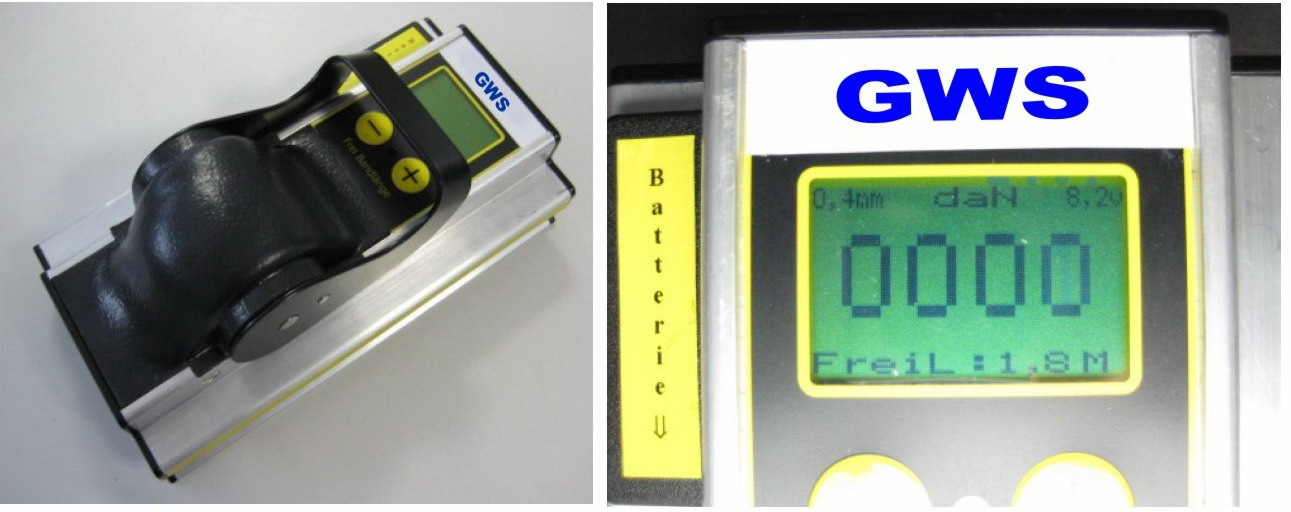 GWS®-Vorspannkraftmessgerät DELOG mini